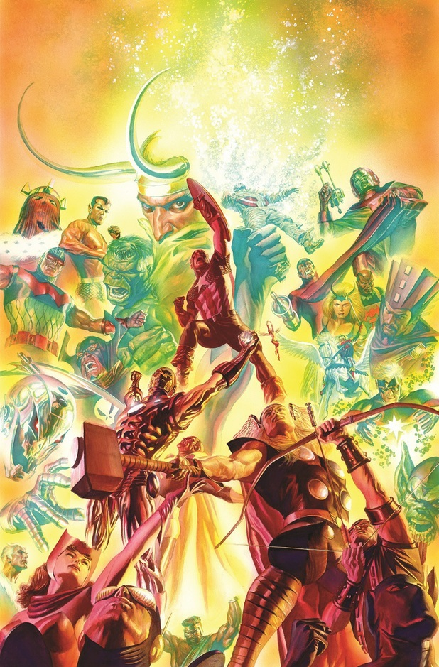 Alex Ross Marvel 75th anniversary 'Avengers' #25 variant