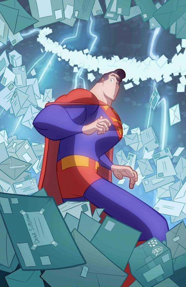 Adventures of Superman comic