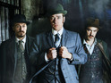Matthew Macfadyen, Jerome Flynn and Adam Rothenberg on series 2 of Ripper Street.