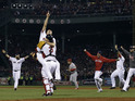 The Boston Red Sox's win in the World Series easily tops the ratings on Wednesday.