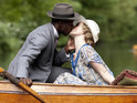 Preview pictures reveal that love is in the air on the ITV period drama.