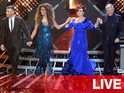 Louis Walsh, Sharon Osbourne, Gary Barlow and Nicole Scherzinger on 'The X Factor' Disco Week