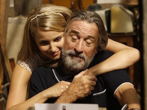 Dianna Agron, Robert De Niro in The Family