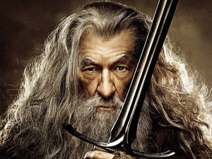 Ian McKellen in 'The Hobbit: The Desolation of Smaug' character poster