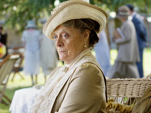 Maggie Smith as Violet, Dowager Countess in Downton Abbey episode 8