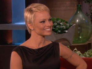 Pamela Anderson on The Ellen Degeneres Show