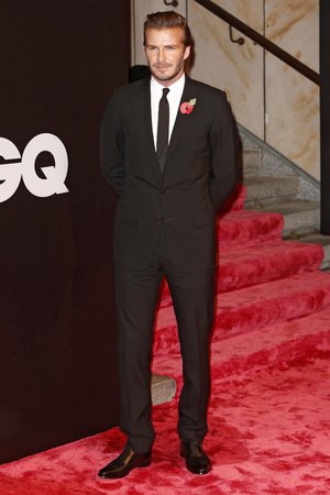 David Beckham GQ Men of the Year Awards, Berlin, Germany - 07 Nov 2013