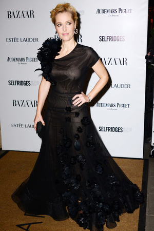 Harpers Bazaar 'Woman of the Year' awards 2013, London, Britain - 05 Nov 2013 Gillian Anderson