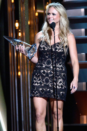 Miranda Lambert  at the 2013 Country Music Awards