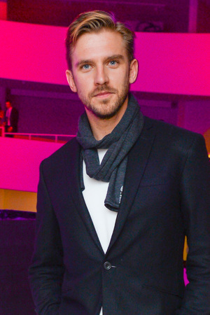 Dan Stevens at the Guggenheim International Gala pre-party, New York