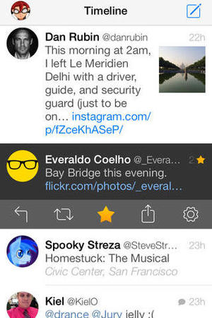 Tweetbot 3 app for iOS