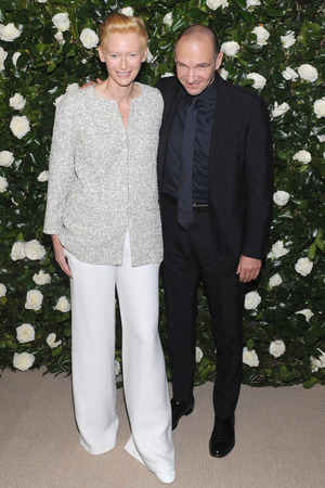 MoMA's 6th Annual Film Benefit, New York, America - 05 Nov 2013 Tilda Swinton and Ralph Fiennes