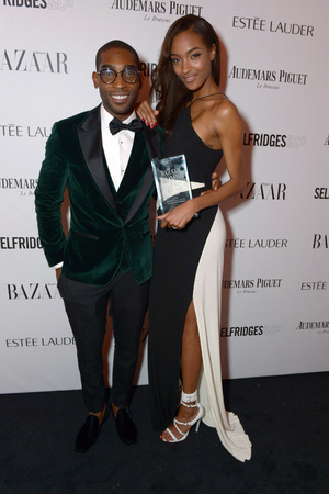 Harpers Bazaar 'Woman of the Year' awards 2013, London, Britain - 05 Nov 2013 Tinie Tempah, Jourdan Dunn