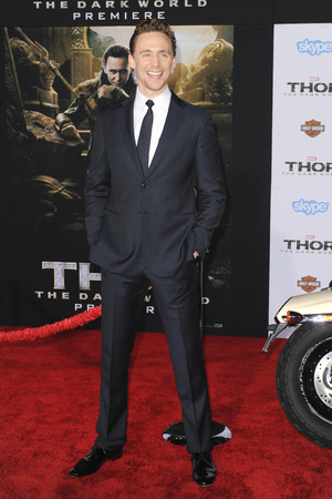 Tom Hiddleston Premiere of Marvel's 'Thor: The Dark World' at the El Capitan Theatre