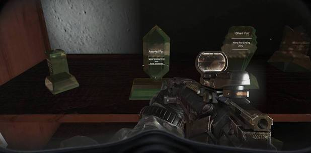 A Zelda Easter egg in Call of Duty: Ghosts