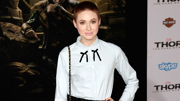 Karen Gillan Premiere of Marvel's 'Thor: The Dark World' at the El Capitan Theatre