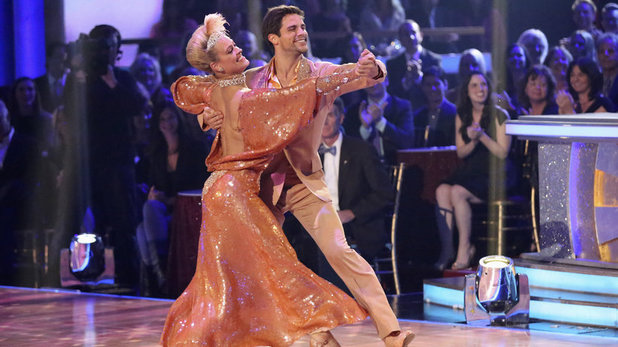 Week 8 of 'Dancing With The Stars' Fall 2013: Brant Daugherty and Peta Murgatroyd