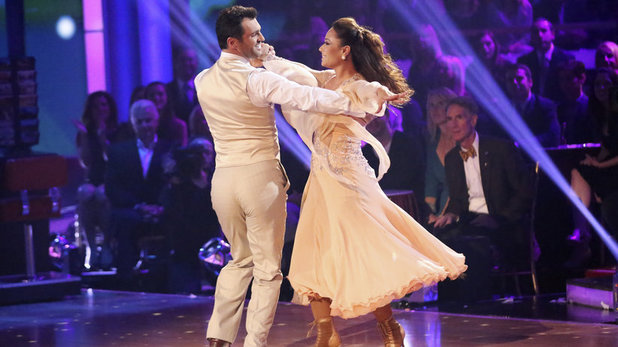 Week 8 of 'Dancing With The Stars' Fall 2013: Leah Remini and Tony Dovolani