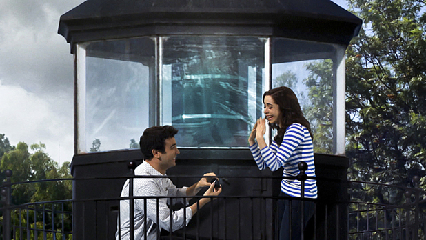 Josh Radnor as Ted & Cristin Milioti as The Mother in How I Met Your Mother: 'The Lighthouse'