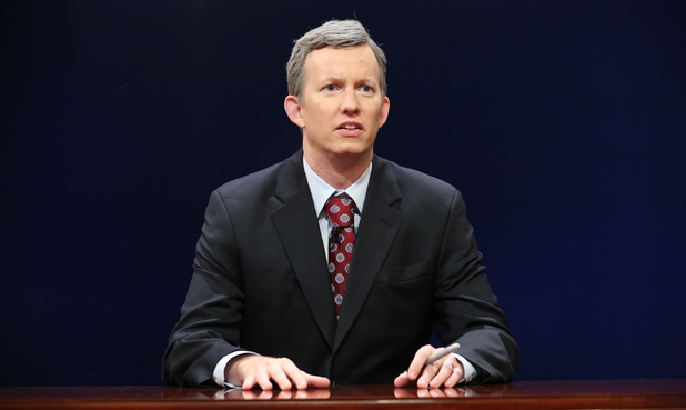 A.D. Miles during a skit on Late Night with Jimmy Fallon