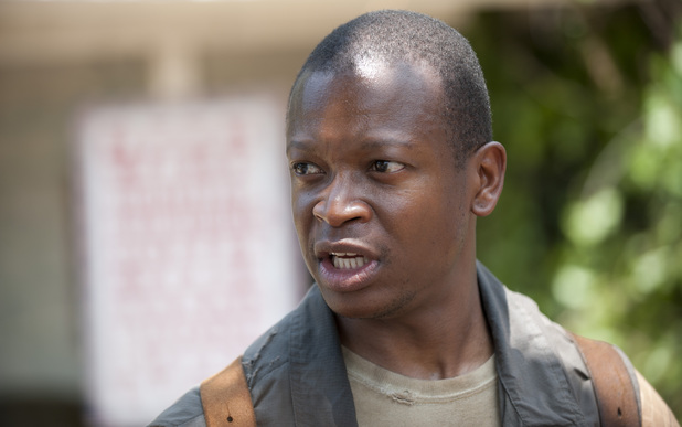 Bob Stookey (Lawrence Gilliard Jr.) in The Walking Dead Season 4, Episode 4: 'Indifference'
