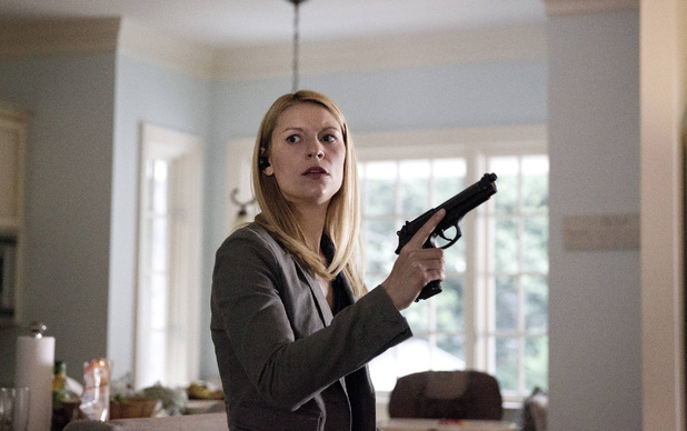 Claire Danes as Carrie Mathison in Homeland episode 6: 'Still Positive'