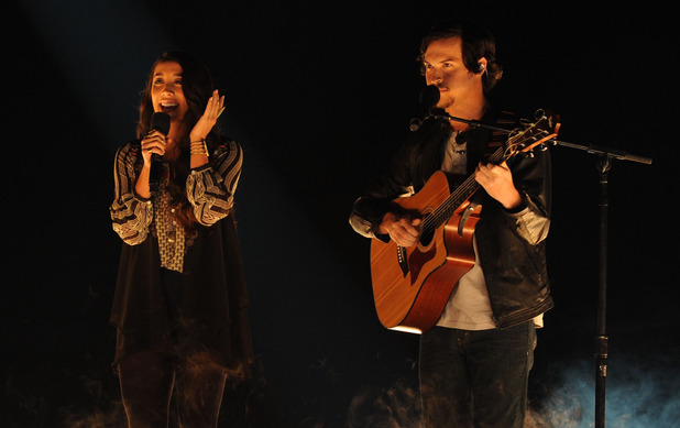 X Factor USA Live Show 2: Alex and Sierra