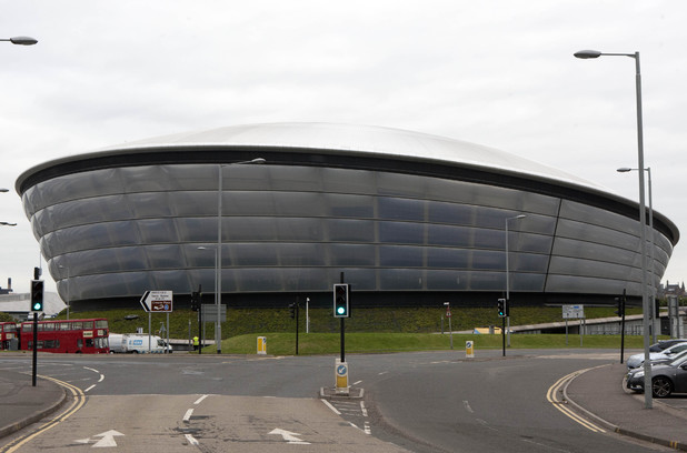 The SSE Hydro, Clydeside, Glasgow, Scotland,