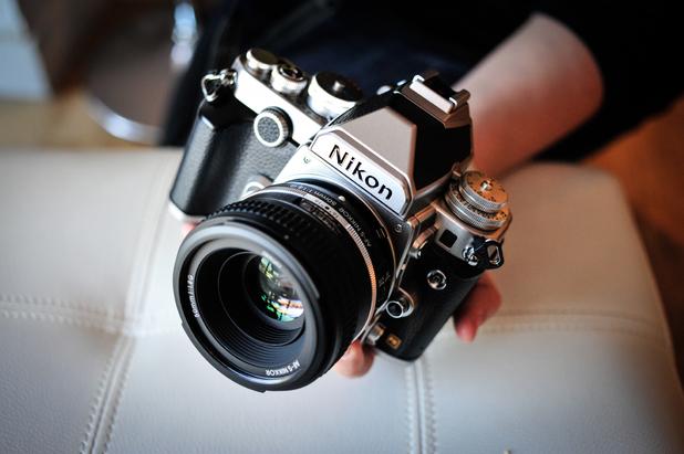 The Nikon Df camera