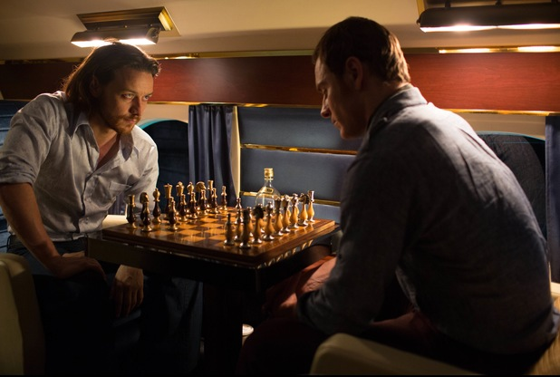 Professor Xavier Magneto chess