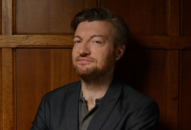 Charlie Brooker in 'Weekly Wipe'