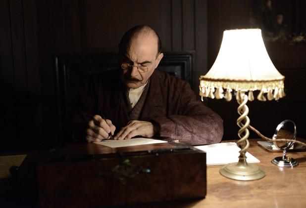 David Suchet as Hercule Poirot in 'Curtain'