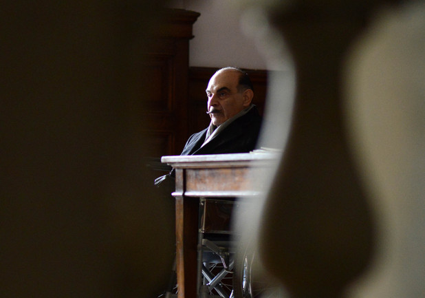David Suchet as Hercule Poirot in 'Curtain'
