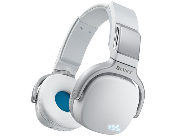 Sony NWZ-WH303 3-in-1 headphones in white