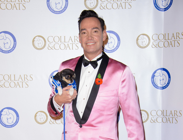 Craig Revel Horwood at the Collars and Coats Ball, in aid of Battersea Dogs and Cats Home, at Battersea Evolution in London.