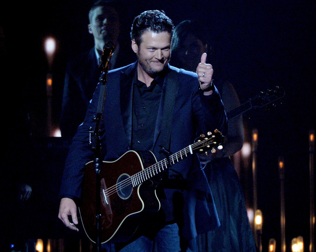 Blake Shelton at the 2013 Country Music Awards
