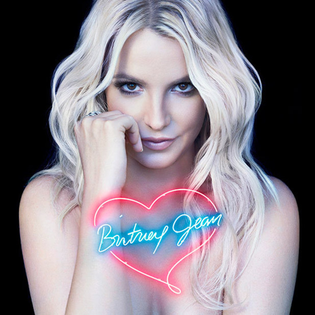 Britney Spears 'Britney Jean' album artwork (coloured - standard edition)