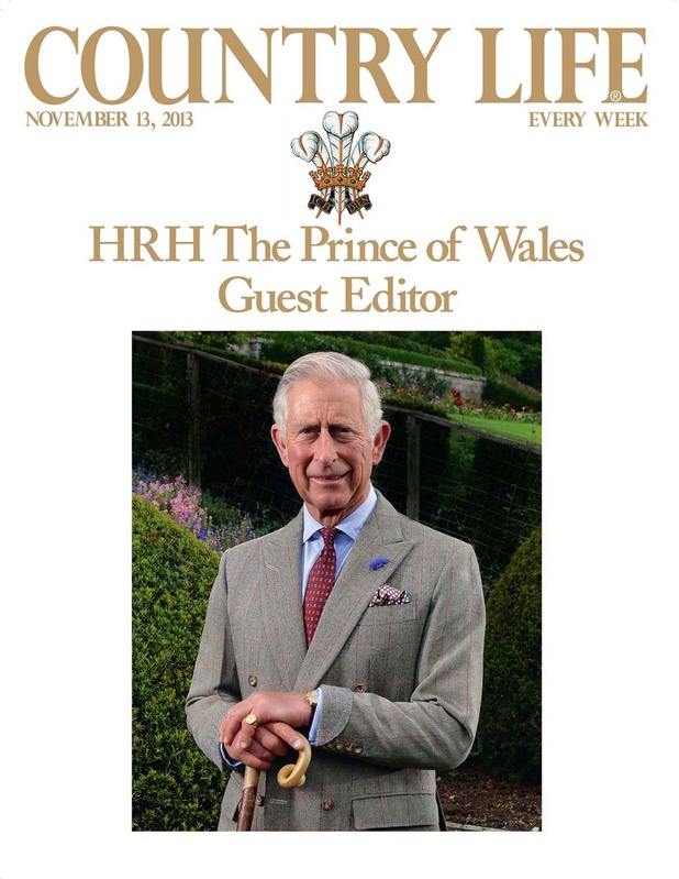 Prince Charles Country Life issue
