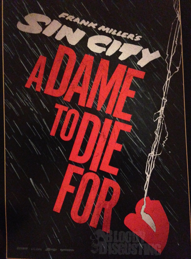 Sin City: A Dame to Die For poster