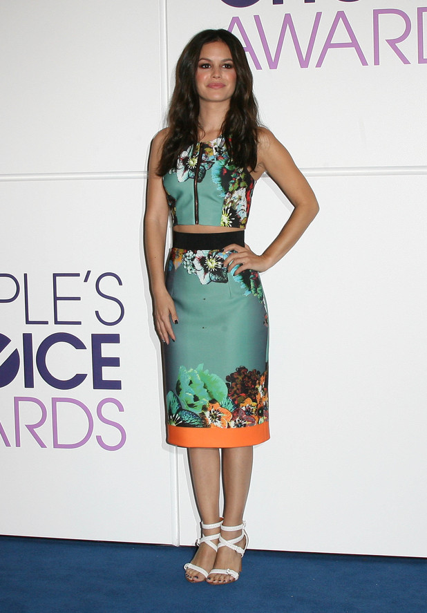 Rachel Bilson People's Choice 2014 Nominations Press Conference held