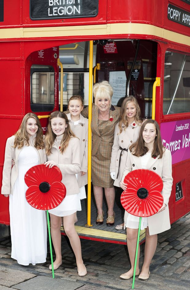 Barbara Windsor and The Poppy Girls