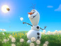 Watch the music video for the snowman's 'In Summer' song.