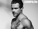 The athlete and Paco Rabanne model poses as Cosmo's latest nude centrefold.