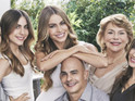 Modern Family actress will appear in ad campaign with her real-life family.
