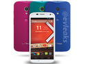 The leaked press shot shows the handset in four colors ahead of its November 13 launch.