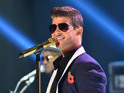 The 'Blurred Lines' singer and his wife are selling LA home and separating assets.
