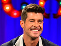 Robin Thicke on 'Alan Carr Chatty Man'