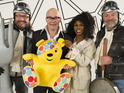 The Hairy Bikers also appear in the music video to raise funds for Children in Need.