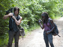 Actor talks about the Daryl and Michonne pairing in The Walking Dead.