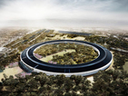 Apple's under-construction spaceship HQ captured in GoPro video